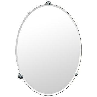 Gatco Oldenburg Chrome Finish Oval Wall Mirror   #P6589
