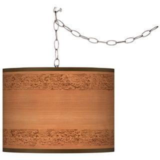Rustic   Lodge, Swag Pendant Lighting