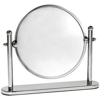 "Gatco Premier 10 1/2"" Wide Chrome Table Mirror   #X6703"