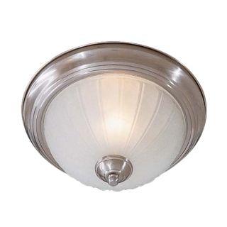 "Melon 11"" Wide Nickel ENERGY STAR Ceiling Light Fixture   #15025"