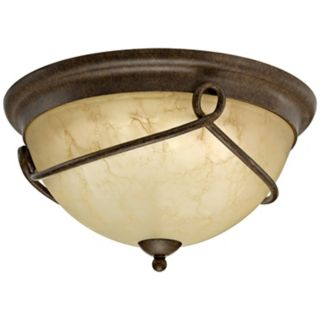 """Florentine Collection ENERGY STAR 14 3/4"""" Wide Ceiling Light   #H9610"""