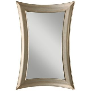 """Murray Feiss Georgette 45"""" High Concave Frame Wall Mirror   #X5723"""