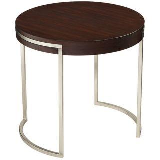Kyle Wood Veneer End Table   #W2755