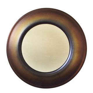 "Babette Holland Bronze 26"" Wide Wall Mirror   #14995"