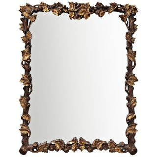 Kichler Oak Leaf 41 1/2 High Rectangular Wall Mirror   #X5862