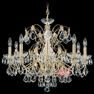 "Schonbek Century Collection 26"" Wide Crystal Chandelier   #N1356"