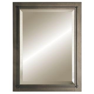 "Hubbardton Forge Metra  Bronze 27 3/4"" High Wall Mirror   #81634"