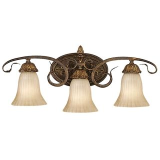 "Sonoma Valley Collection 25"" Wide Three Light Wall Sconce   #09516"