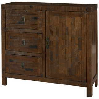 3 Drawer Reclaimed Wood Chest   #W9146