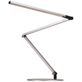 Koncept Gen 3 Z Bar Warm Light LED Modern Desk Lamp Silver   #V6894