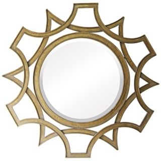 "Abberley 40"" High Malden Gold Wall Mirror   #X7146"