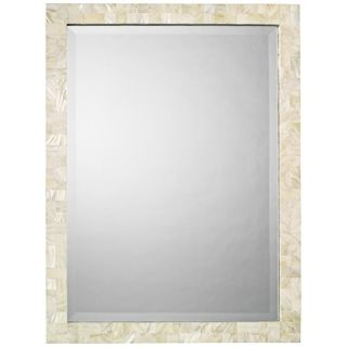 """Jamie Young Mother of Pearl 33"""" High Wall Mirror   #U3452"""