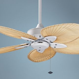 "44"" Windpointe Matte White Blade Ceiling Fan   #F2195"