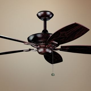 """52"""" Kichler Canfield Tannery Bronze ENERGY STAR Ceiling Fan   #78791"""