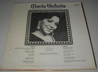 Maria Victoria Ademas Yo Tengo Un Nuevo Amor LP Mariachi Juan Gabriel