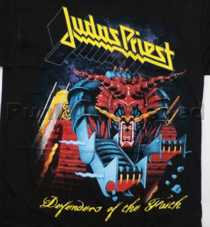 Judas Priest Defenders Huge Print T Shirt Official Fast SHIP