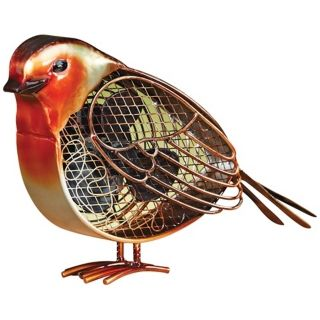 Small Robin Figurine Decorative Desk Fan   #T1355