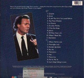 Julio Iglesias Starry Night US LD with Singapore Board of Censor