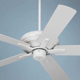 "52"" Casa Vieja Paseo ENERGY STAR White Ceiling Fan   #U9638"
