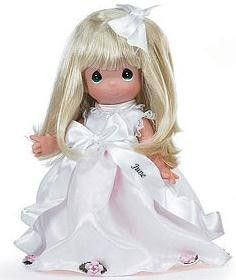 Precious Moments Doll 3446 June Calendar Cutie