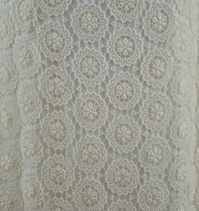 New J Crew Medallion Lace Wedding Gown 6 Ivory Dress Sample