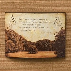 Julie Chen Collection Bless You Wall Art