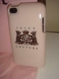 Juicy Couture iPod Touch Case 4G Light Pink Scottie Logo
