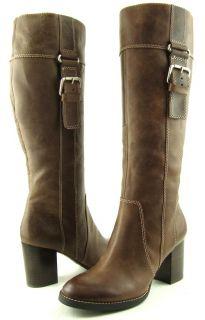 ENZO ANGIOLINI JURADO Brown Womens Designer Shoes Boots MISMATE 8.5/ 8