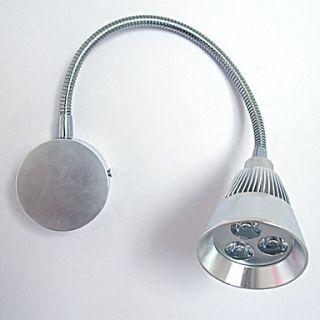 3W 180 200lm 2800 3300K luce bianca calda a LED Faretto da parete