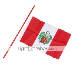 EUR € 1.83   Bandera del Perú grande de 21,5 cm, ¡Envío Gratis