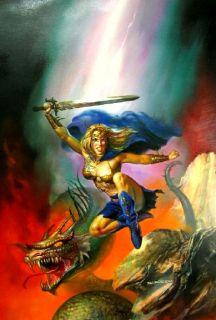 Imaginistix Boris Vallejo Julie Bell Fantasy Art Pristine HC Edition