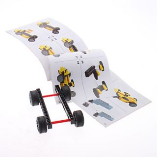 DIY 3D Storm Chariot bloques de construcción ladrillos de juguete de