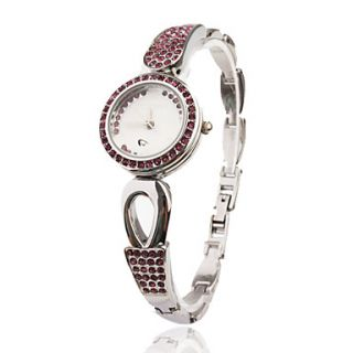 EUR € 12.87   moda bracciale orologio al quarzo con banda pc lega d
