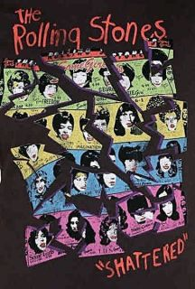 The Rolling Stones Shattered Junk Food Rock T Shirt s M L XL NWT