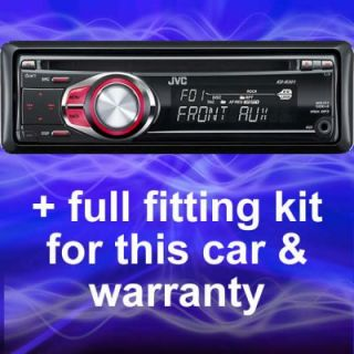 Automotive   FORD TRANSIT/CONNECT REPLACEMENT JVC CD PLAYER/RADIO