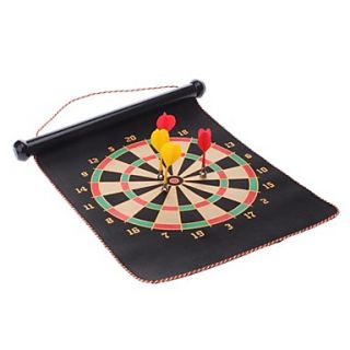 € 18.76   12 Magnetic Roll up Dartsboard en Bullseye Game met 4