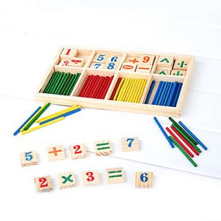 USD $ 9.99   Funny Wooden Math Game Box,