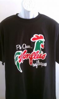 Funny Spanish T Shirt Raza Mexican Corn Flakes Tee SM Med LG XL 2X