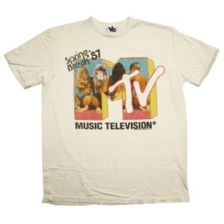 Television Spring Break 87 Junk Food Vintage Style Soft Adult T Shirt