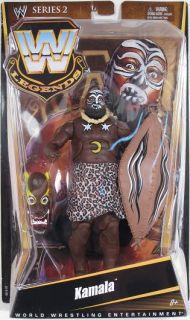 WWE Legends Series 2 Kamala Figure NIP Mattel 2010