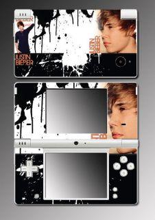 Justin Bieber U Smile Music Game Skin 22 Nintendo DSi