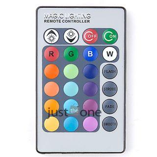 Universal 24 Keys Remote Control for E27 E14 MR16 GU10 RGB LED