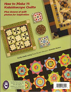 Kaleidoscope ABCs Marti Michell New Book Quilt Patterns Borders Mirror