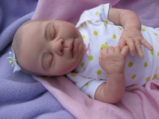 Reborn Preemie Baby Girl Kaelin by Denise Pratt So Cute