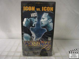 WWF Wrestlemania x8 18 VHS Hulk Hogan vs The Rock 651191541256