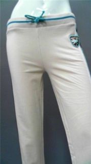 Kangaroos Junior XL Stretch sweat Pants Tan Beige Solid Designer
