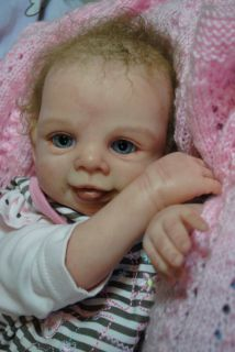 Lovely Girl KARINA Reborn Baby, Doll Kit °Lars° by Brit Klinger Ltd
