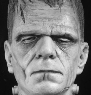 The Monster Bust from The Karloff Life Mask
