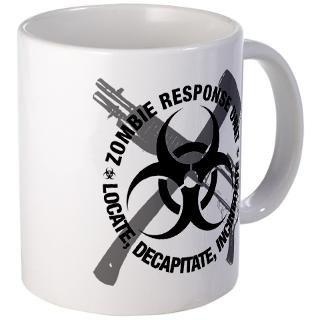 Zombie Response Unit Mugs  Buy Zombie Response Unit Coffee Mugs