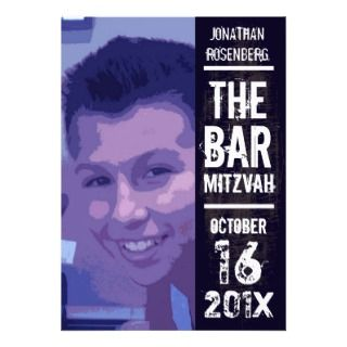 Rock Star Bar Mitzvah Invitations, Announcements, & Invites